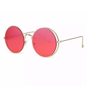 90s sunglasses red lens 90s y2k rave goth festival